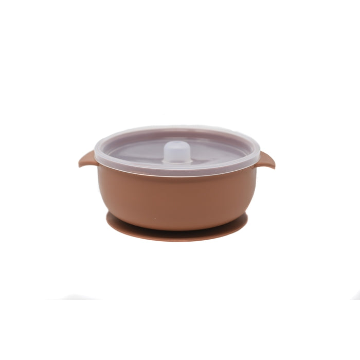 BABY BOWL | SUCTION BOWL | TERRACOTTA - THE DEAREST GREY