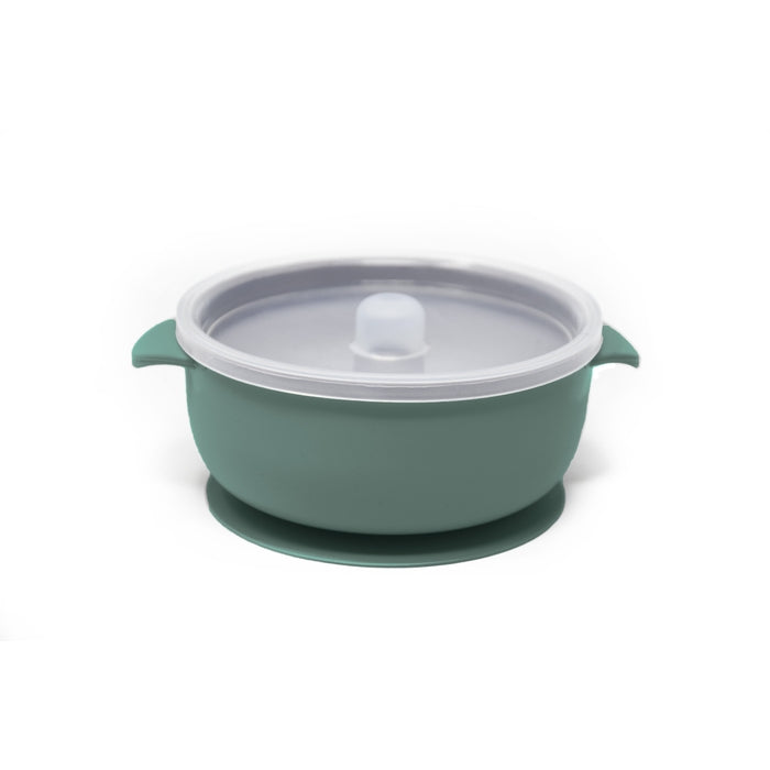 BABY BOWL | SUCTION BOWL | SEAGREEN - THE DEAREST GREY