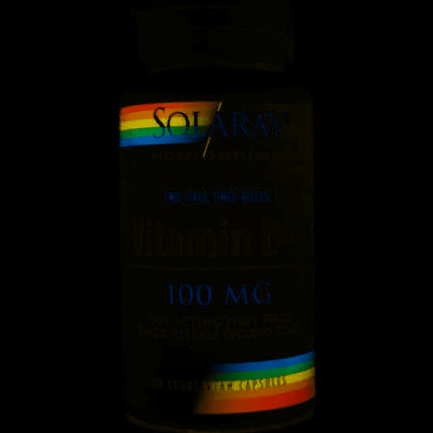 Vitamina B-6 Solaray 100mg