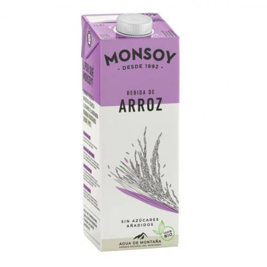 Bebida de arroz integral Monsoy