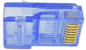 blue rj45 connector