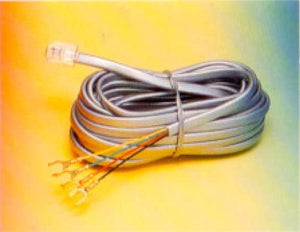 R.J. Enterprises 307 Base Cord Plug to S/Lugs (4C - 7')
