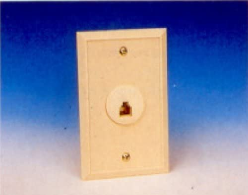 R.J. Enterprises 216-6 Flush Mount Wall Jack (6C)