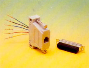 DB15 Connector (Male) to RJ-11 (4C) Adapter