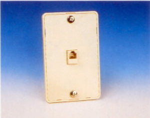 R.J. Enterprises 219-4 Wall Phone Plate (4C)