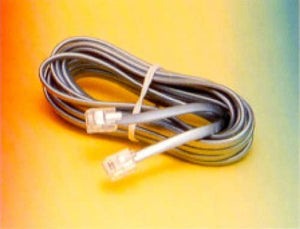 R.J. Enterprises 425 Base Cord Plug to Plug (4C - 25')