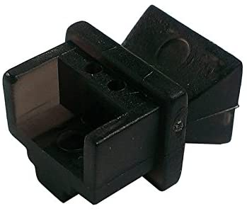 R.J. Enterprises - RJ45 Jack Dust Cover, Cap, Protector, Black (100 pieces)