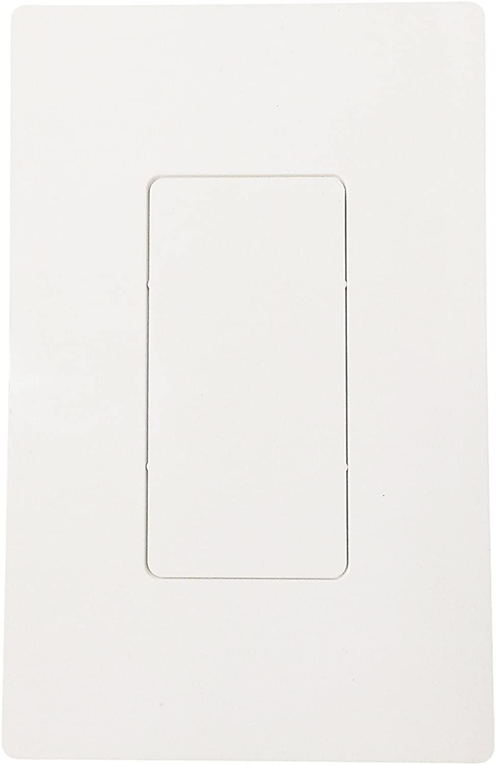 R.J. Enterprises - RJ-2013A-S0 - Screwless Snap-on Wall Plate Blank