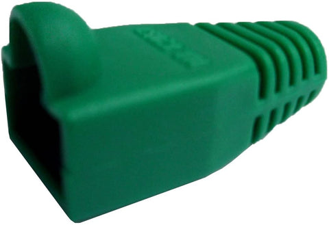 R.J. Enterprises - (300 Pcs RJ45 Strain Relief Boot Green RJ-SR-0-GR (Patented)