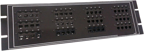 Telco Patch Panel 48 Port (with Telco-Connector)