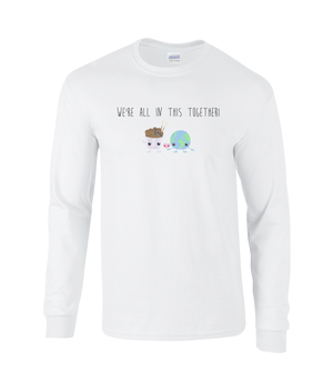 All in this together t shirt **50% to Coronavirus charity**