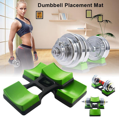 1Pair Dumbbell Bracket Placement Frame Stand
