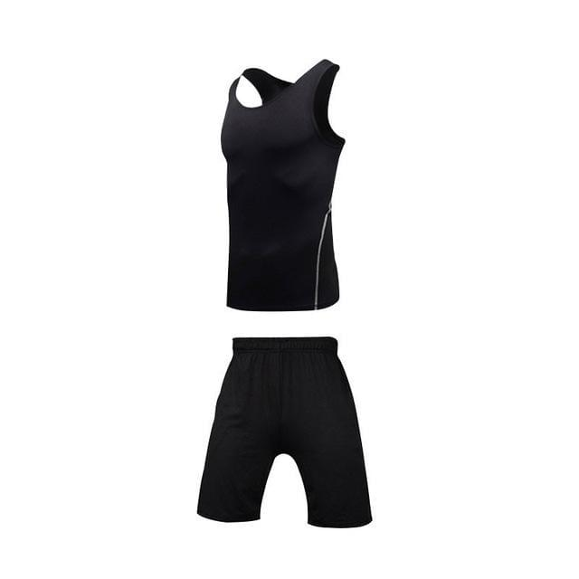 Gym Fitness Tracksuits Running Set - FitnessFlow.net