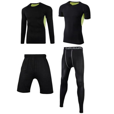 Gym Fitness Tracksuits Running Set