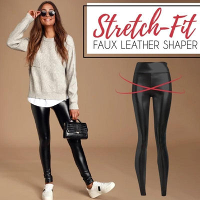 Stretch Fit High Waist Shaper Leggings