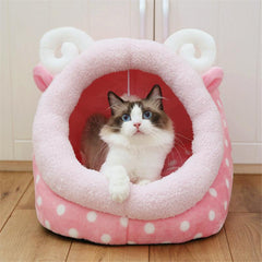 Comfortable and comfortable bed for cats and small dogs | Washable