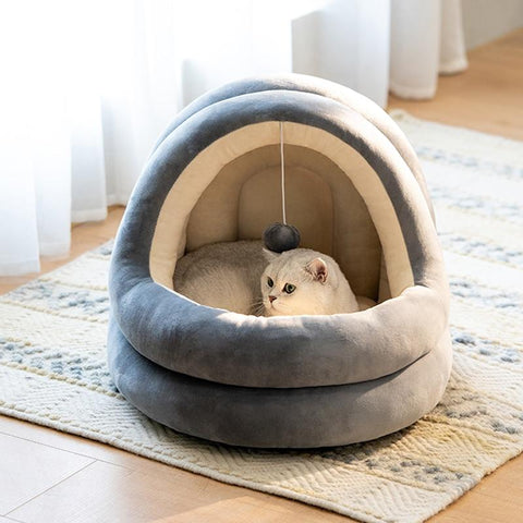 Cozy and comfortable pet bed for your cat | Your pet will love it!