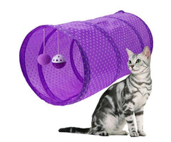 FUN TUNNEL™ Cat's game | Resealable tunnel | Double entry | Different colors combinable - FANTASY BIG STORE
