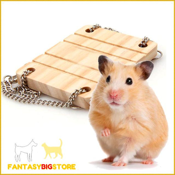 Funny hamster bridge | In finely crafted quality wood