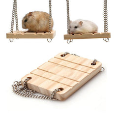Funny hamster bridge | In finely crafted quality wood - FANTASY BIG STORE