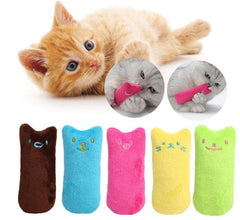 Funny Kitten Shaped Peluche™ | Toy for your cat's enjoyment | With catnip!