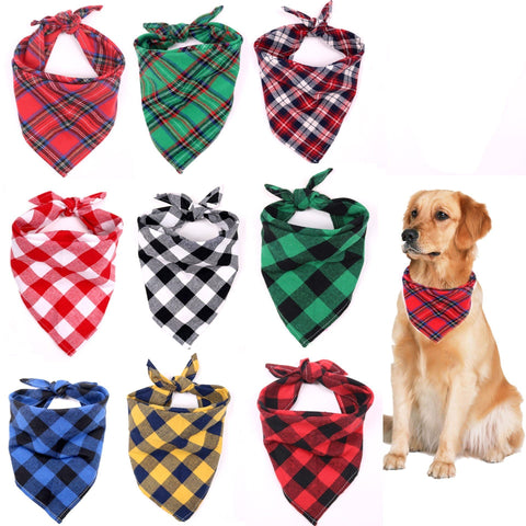 Multicolor Dog Bandana | Animal scarf - FANTASY BIG STORE