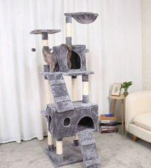 MULTILEVEL TREE™ | Tower for cats and dogs | With tower pulls scratches and berths! - FANTASY BIG STORE
