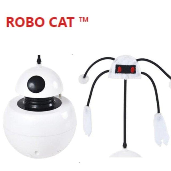 ROBO CAT™ | Durable Automatic Interactive Robot | 3 In 1 Multi-Function | Anti cat's obesity