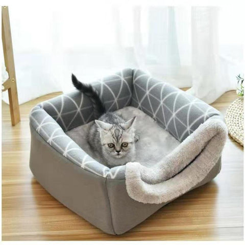 Small pet bed, small, warm, comfortable. Two colors.