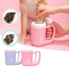 Soft cleaner for dog paws | Made of delicate silicone. Wash feet cup.
