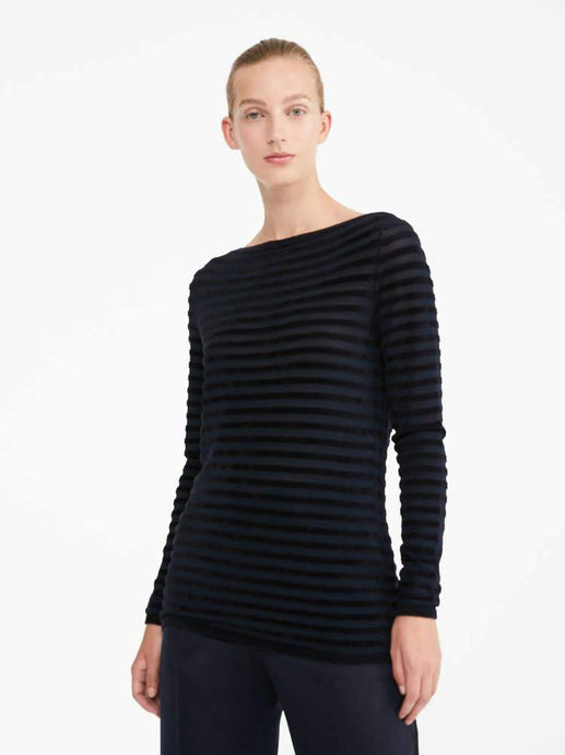 Eliche Knit Striped Long Sleeve