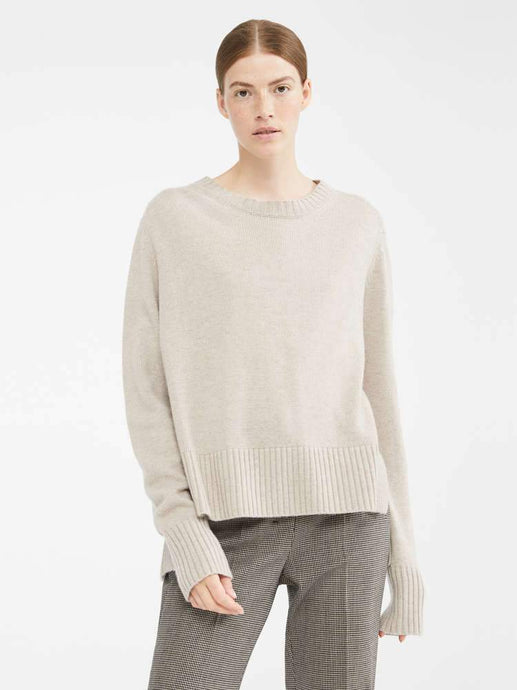 Getti Cashmere Wool Ribbed Neck