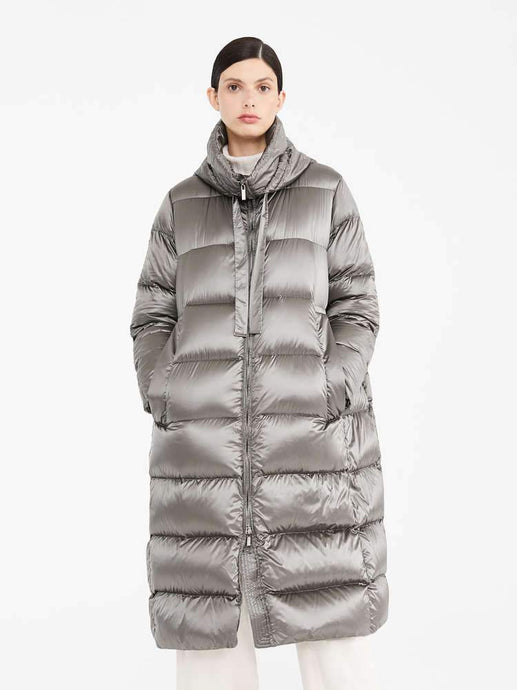 Space Hooded Down Coat