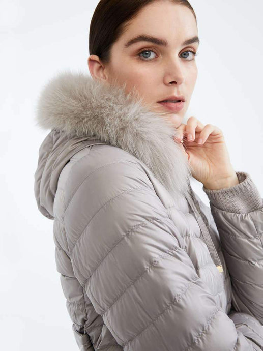 Uniion Cube Fox Fur Collar
