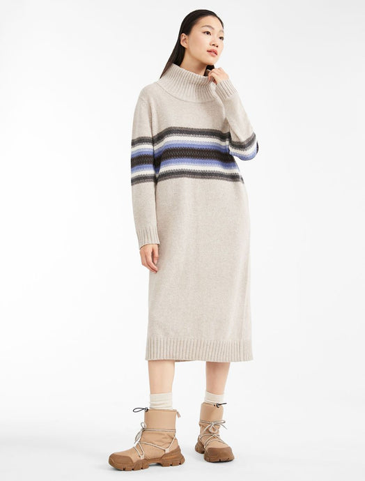 Nirvana Knit Dress Striped
