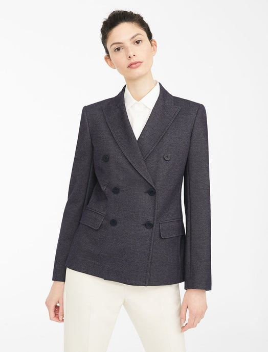 Elegia Stretch Double Breast Blazer