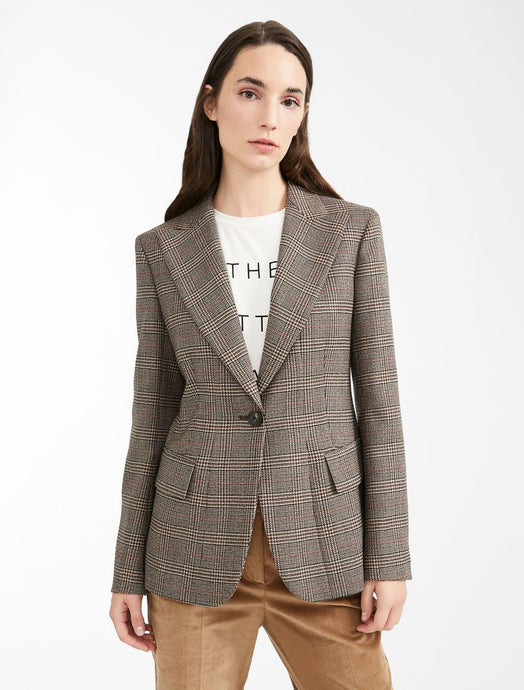 Eolo Wool 1 Button Blazer