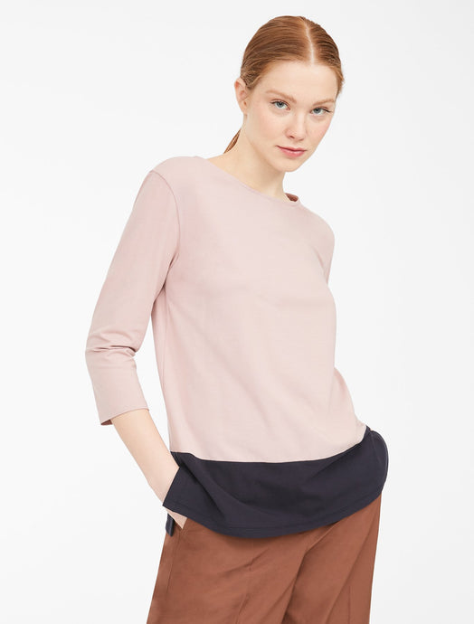 Multia Two Tone Long Sleeve