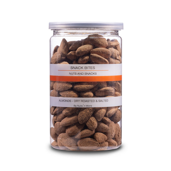 Almonds Valencia - Dry roasted & salted