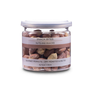 Gourmet peanuts - Dry roasted & salted