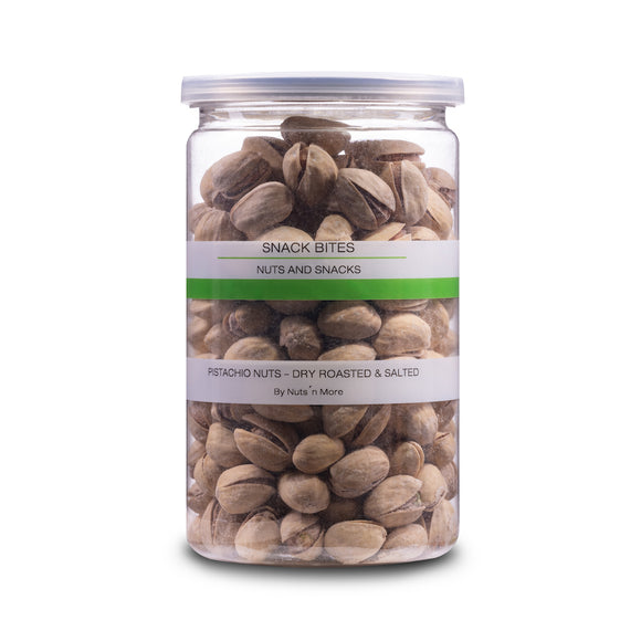 Pistachio nuts - Dry roasted & salted