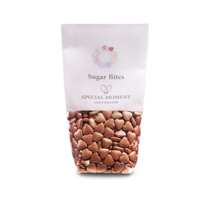 Sugar Bites - Hearts mini & Copper metallic