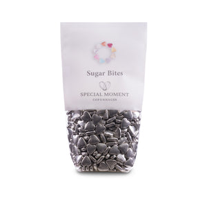 Sugar Bites - Hearts mini & Silver (genuine)