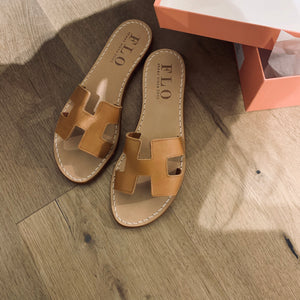 FLO H-slipper camel