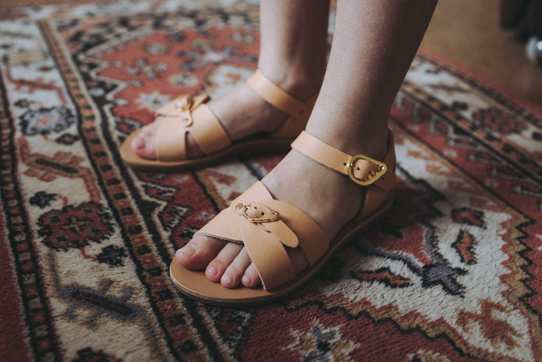 ANCIENT GREEK SANDALS vasso sandaal