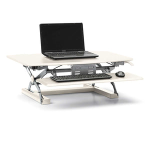 Portable Desktop Height Adjustable Riser with Keyboard Tray