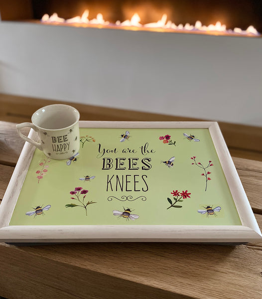 Bee Happy Lap Tray