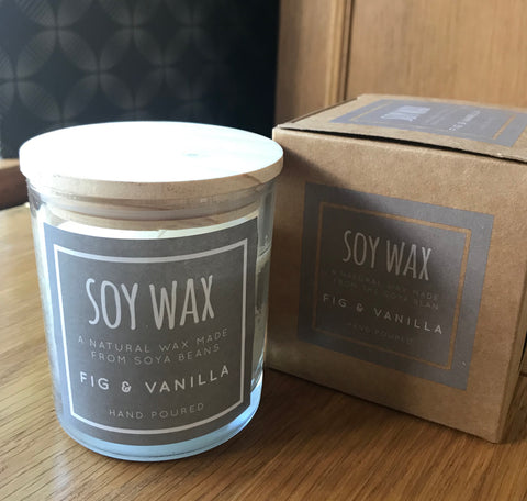 Desire Soy Wax candle     Fig and Vanilla