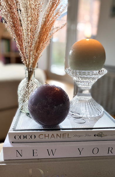 Ball Candle Granite