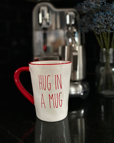 Large mug ' hug in a mug'
